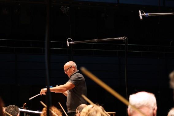 Christian Lindberg och Norrköpings symfoniorkester spelar in.