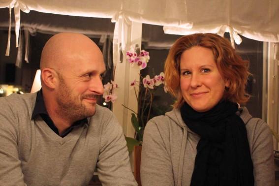Marcus André och Jessica Svensson