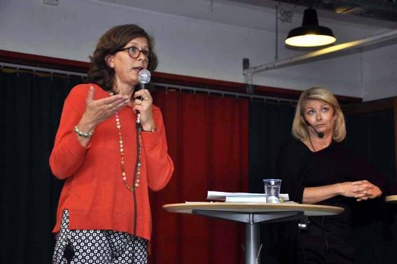Sofia Lycksell och Ulrika Kärnborg
