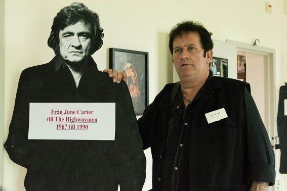 Johnny Cash och Lasse Lindfors
