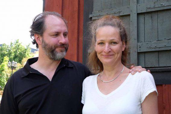 Lars Olofsson och Malin Kärrbrink
