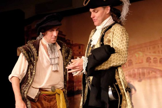 Truffaldino träder i tjänst hos sin andre herre