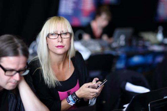 Sandra Wall, Fotograf Peter Holgersson