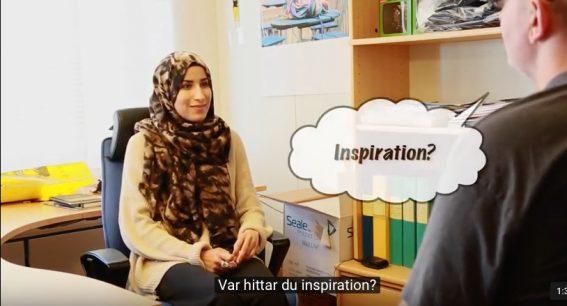 Meriem Jamil 2016 års Unga berättare