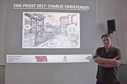 Charlie Christensen fick EWK-priset