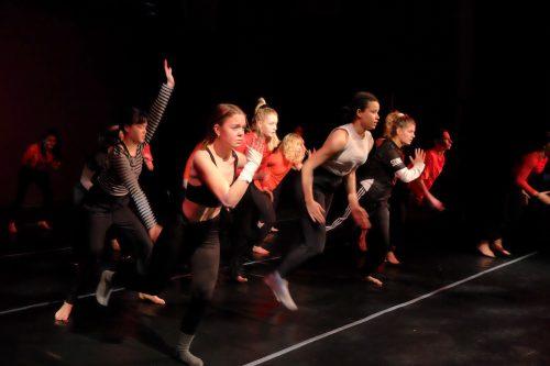 De Geers dansare på språng för Audite
