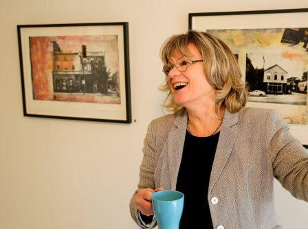 Agneta Östlund ställer ut i Finspång