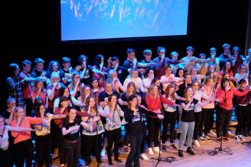Elevkonsert med FMG och Kāpiti College