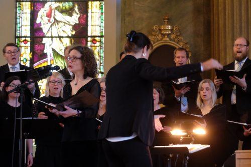 Kör, cello och piano i Norrköpingsljud