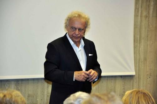 Herman Lindqvist berättade om Finland