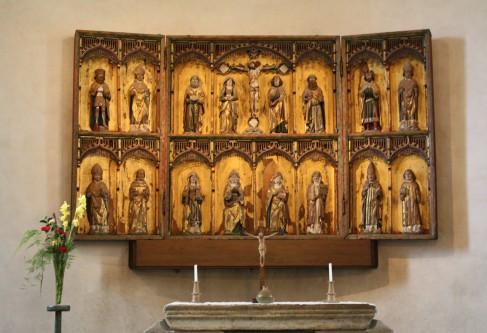 Se livet och modet i altarskåpen
