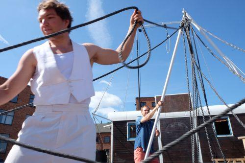 Cirkusen som vill hålla ihop hela samhället