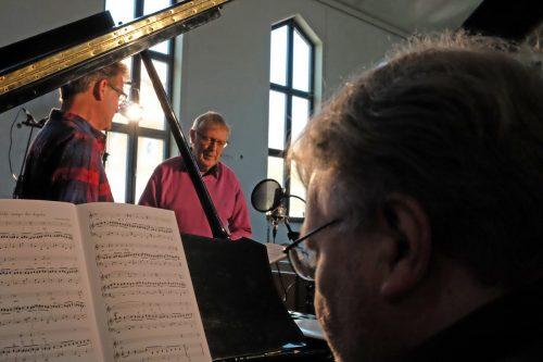 De spelar in Bengt-Göran Skölds sånger