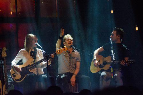Peter, Bruno och Matilda på turné