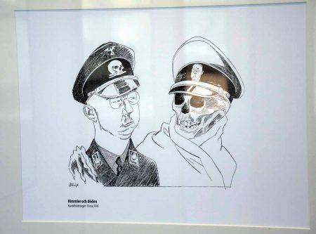 Stig Höök gör Blix-visit på EWK-museet