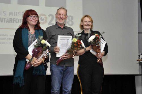 Tre fick dokumentärfotopriset 2018