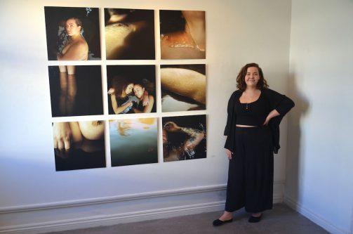 Moa Liverstams fotografi i Studion