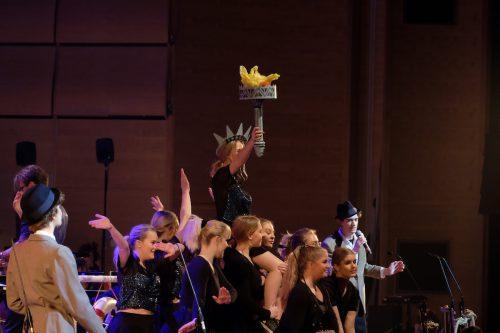 Musiktreor seglar Bortom HoriSONten