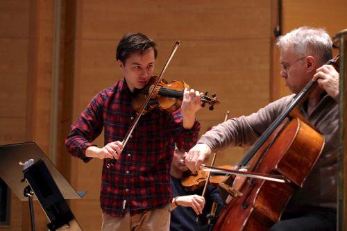 Johan Dalene spelar Brahms dubbla