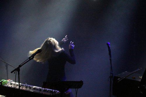 Anna von Hausswolff i ljud och ljus