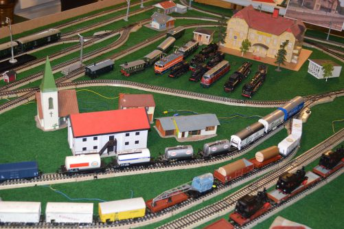 Museets järnväg kör på sportlovet