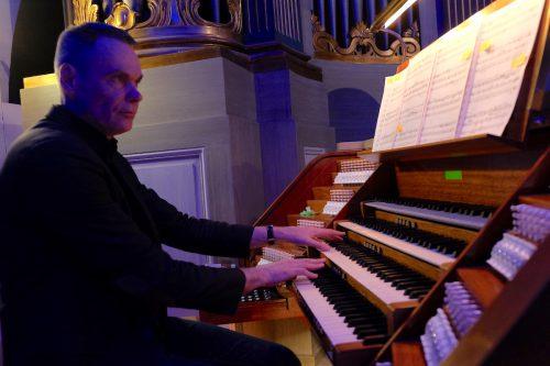 Förtrollande orgel i S:t Olai kyrka