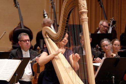 Nordiskt med harpa, sopran och SON