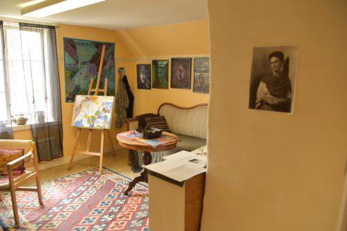 Feministiskt måleri i Kuskbostaden