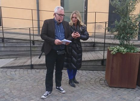 Emelie Schepps Jana på Peters gator