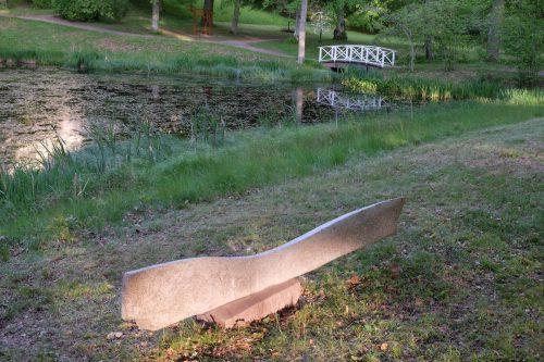 Skulpturer i Löfstads engelska park